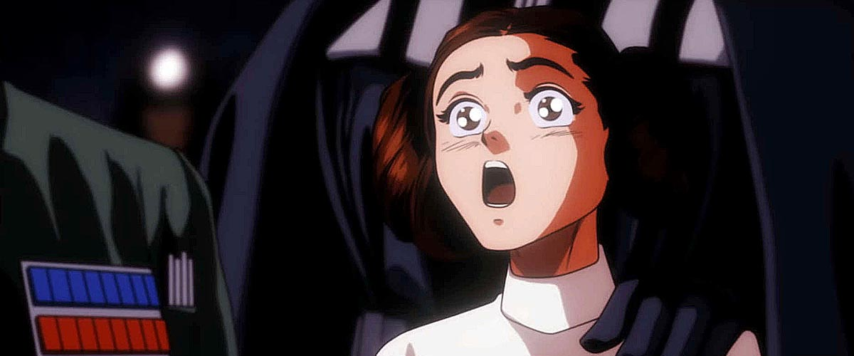 Star Wars: A New Hope sabor animé